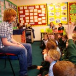 Lindisfarne Gospel Workshop in year 3