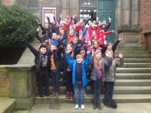 Year 4 trip to Theatre Royal Hatton Art Gallery