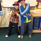 Year 5 have fun on decades day!