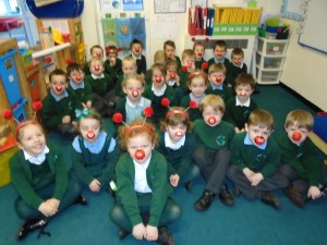 Red Nose day in Reception