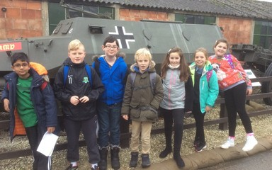 Year 5 Historians at Eden Camp