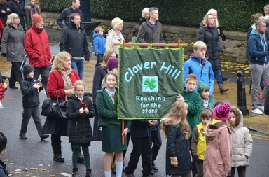 Whickham Remembrance Day Parade