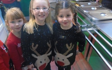 Reception's Christmas Lunch!