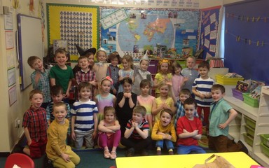 Year 1 go to the Dance Festival