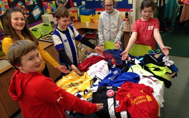 Sports tops for Uganda #sportreliefatcloverhill
