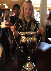 Y3 pupil wins the Haggerston Challenge Cup!