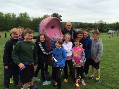 Clover Hill Athletes Go Run For Fun