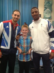 Gateshead Young Sports Achiever 2016 goes to ……. Theo S