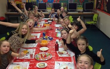 Party Time in Year 3 and 4