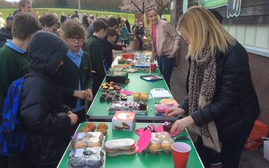 Clover Hill Cake Stall Success