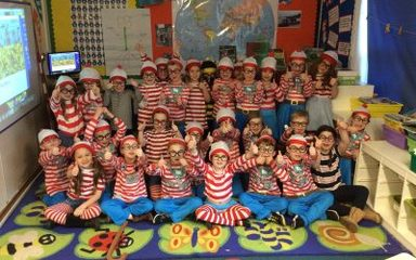 Where's Wally – Year 1