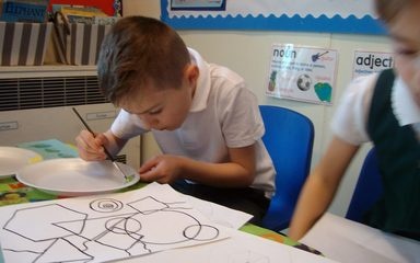 Year 2 artists