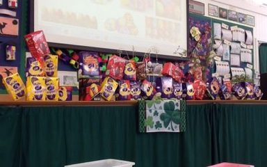 Easter Eggs-travaganza at Clover Hill!