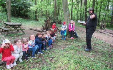 Reception's Visit to Kirkley Hall