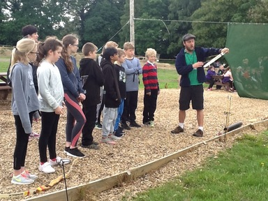 Year 6 DHW day 2: archery