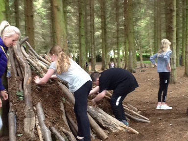 Year 6 DHW: Day 2 bushcraft skills