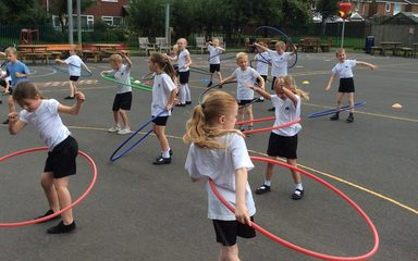 Hoopstarz at Cloverhill!