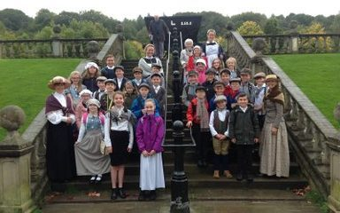 Year 6 go back in time…