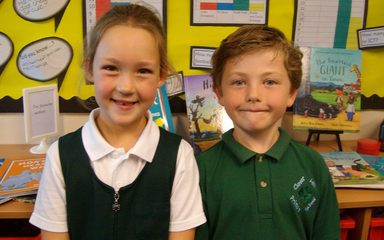 Year 2 become members of the Pupil Parliament