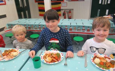 Christmas Lunch with our Buddies!