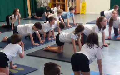 Year 6 say YES to YOGA!