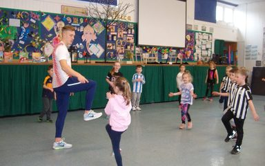 Working with an athlete in Year 2