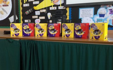Easter Bunny Comes Early to Clover Hill