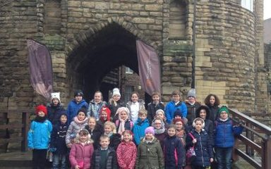 Year 4 visit Newcastle Keep