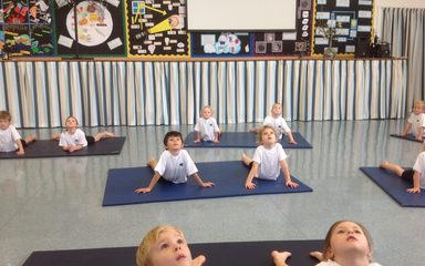 Year 1 Try Yoga