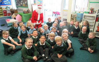 A special visitor!