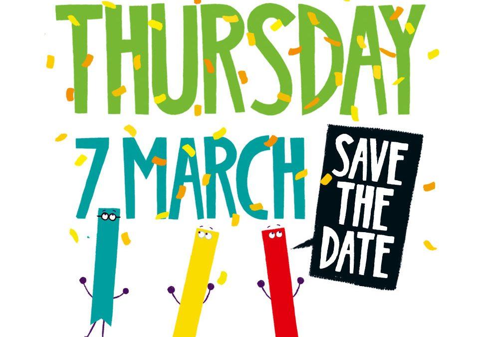 Thursday 7th March – WBD!!!