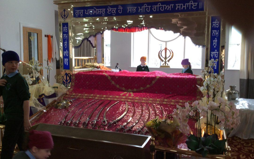 Year three visit the Gurdwara