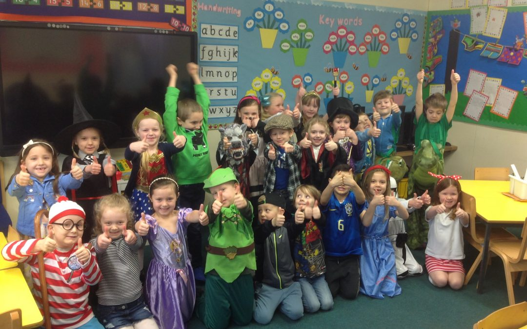 World Book Day pictures from Year 1