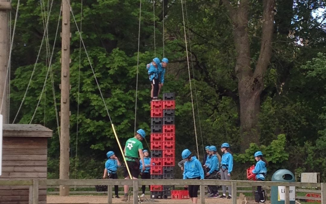 Crate Stacking- Fantastic Teamwork and Friendship