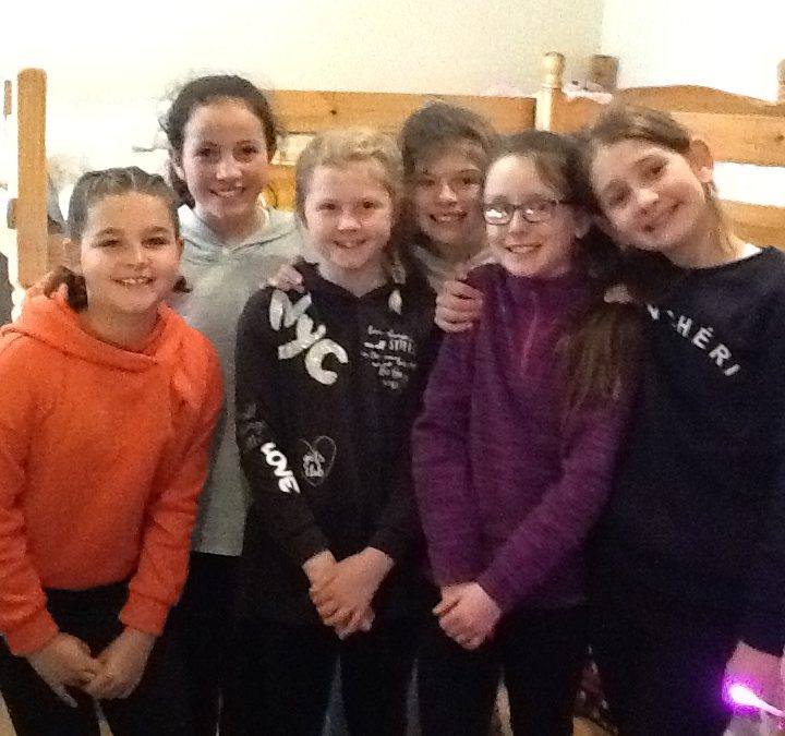 Year 5 Residential: roomies!