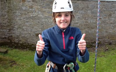 Year 5 residential: Leap of Faith