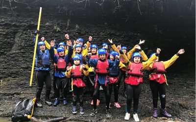 Year 5 residential: Gorge Walk