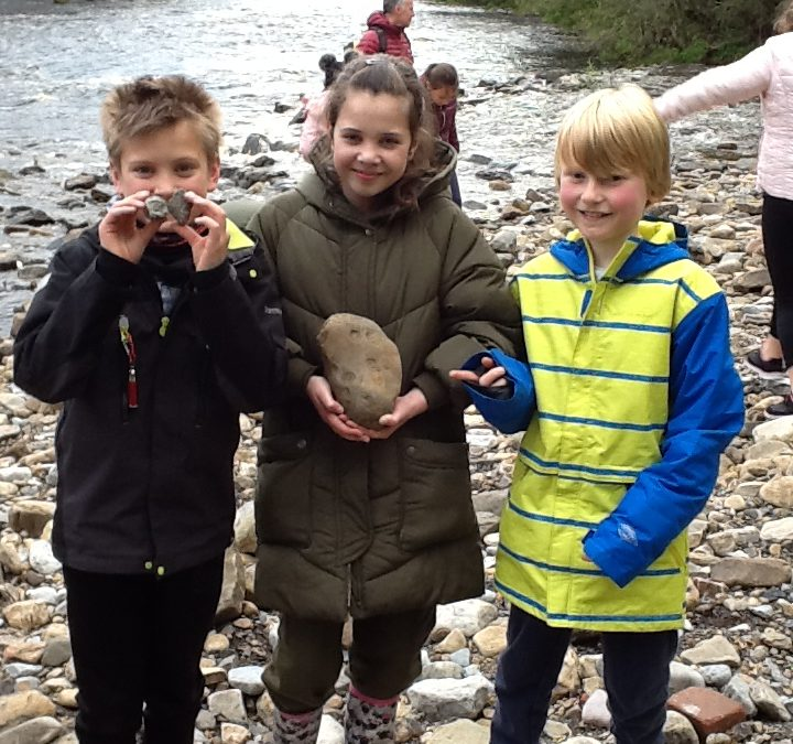 Year 5 residential: Fossil hunt and River walk