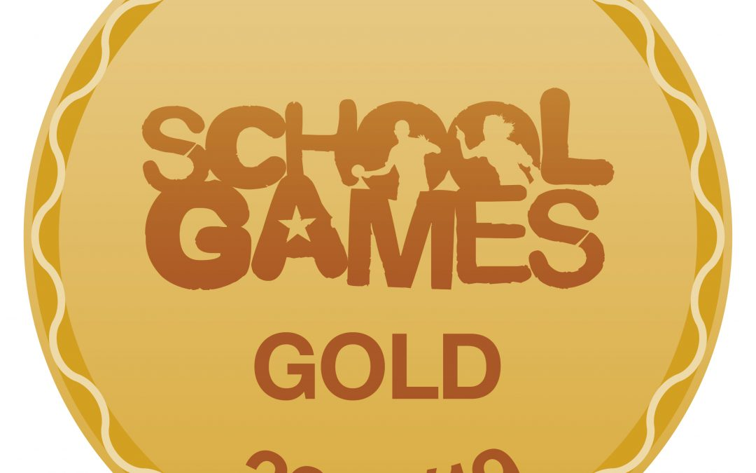 School Games GOLD LEVEL Mark Award for the 2018/19