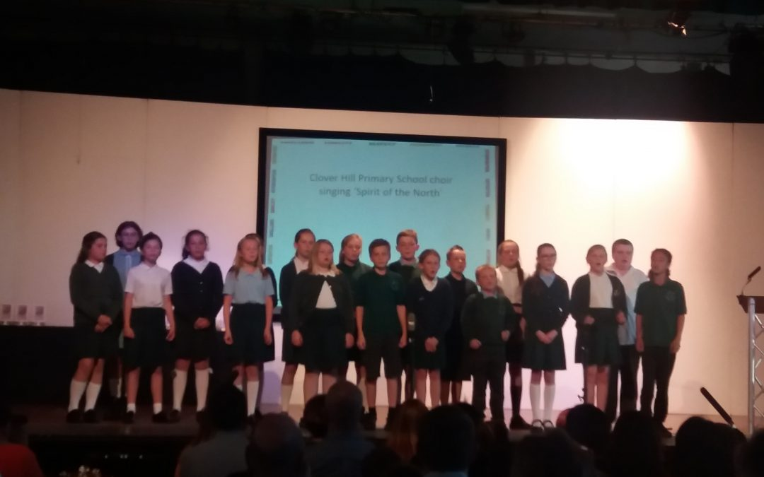 Awards night at Whickham School