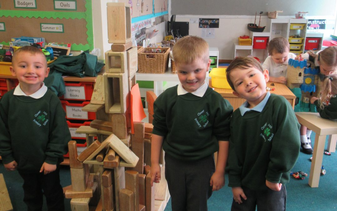 Welcome to our new Reception class!